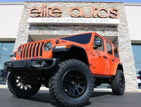 2018 Jeep Wrangler Rubicon na prodej