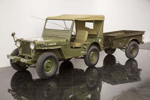 1952 Willys Model 38 Truck Jeep M38 4×4 na prodej