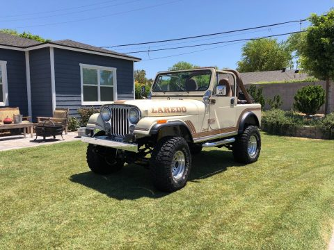 1986 Jeep CJ7 Laredo na prodej