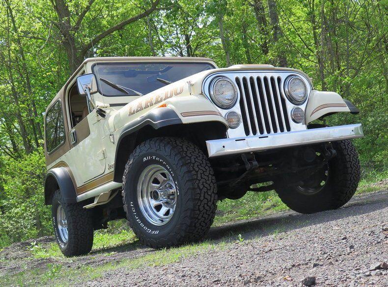1986 Jeep CJ7 Laredo