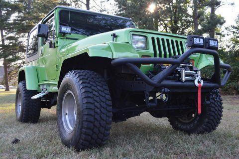 1995 Jeep Wrangler YJ na prodej