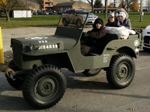 Willys Jeep Replica na prodej