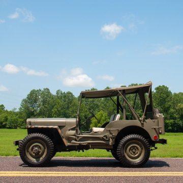 1948 Jeep GPW na prodej