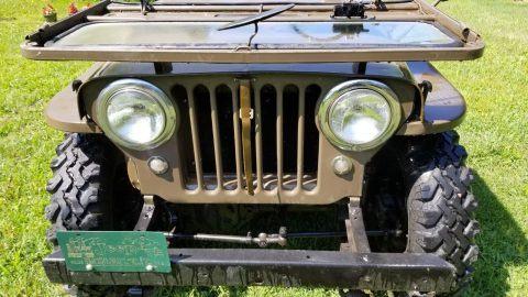 1952 Jeep Willys CJ3A na prodej