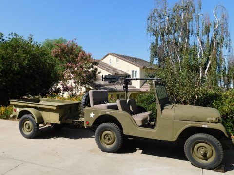 1955 Military LIKE JEEP CJ. Korean WAR Era na prodej