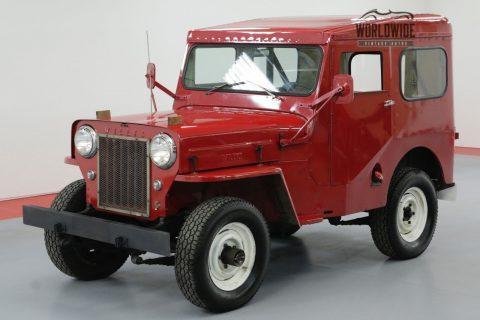 1961 Jeep Willys CJ3B 4 CYL Manual 4X4 na prodej