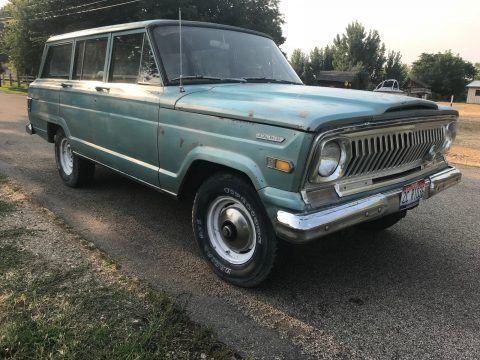 1969 Jeep Wagoneer i6 na prodej