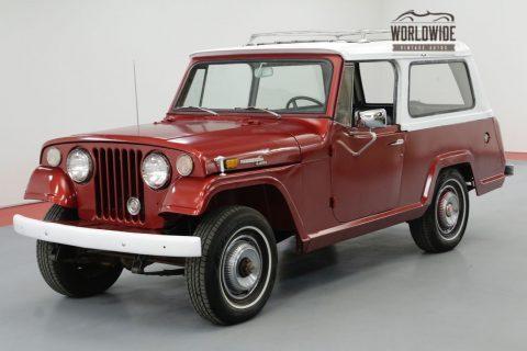 1970 Jeep Commando Restored Removable TOP Original EQUIPMENT na prodej