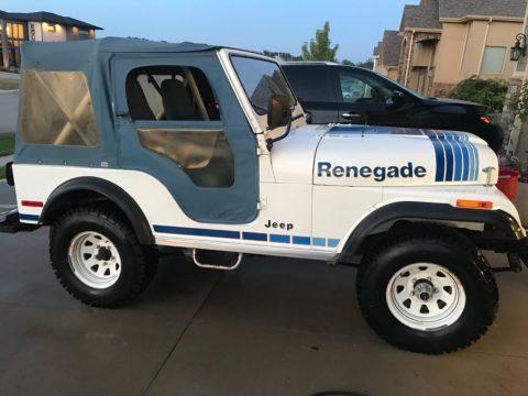 1980 Jeep Wrangler Renegade na prodej