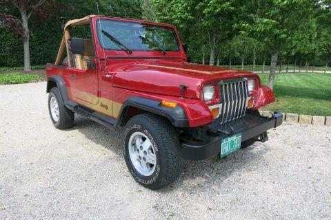 1987 Jeep Wrangler YJ Base Sport Utility 2 Door na prodej