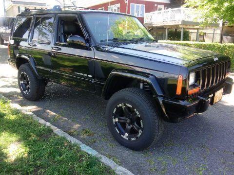 1999 Jeep Cherokee Limited na prodej