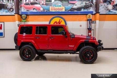 2012 Jeep Wrangler Sahara 4X4 na prodej