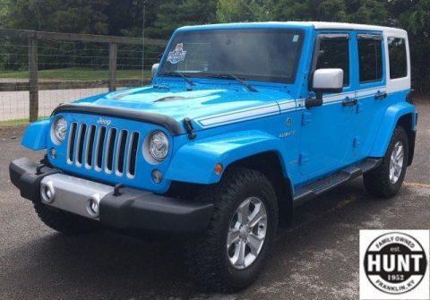 2017 Jeep Wrangler Chief Edition na prodej