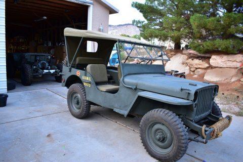 1942 GPW Military WWII Jeep na prodej