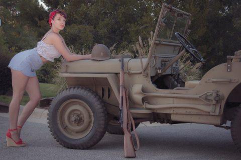 1945 Jeep Willys MB WW2 na prodej