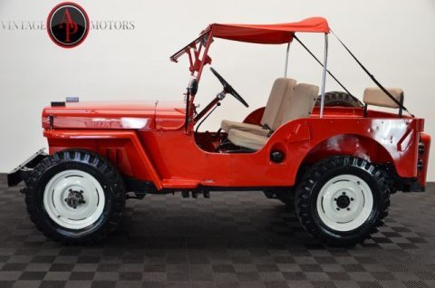 1947 Jeep Willys CJ2A 4X4 RARE Overdrive! RESTORED!! na prodej
