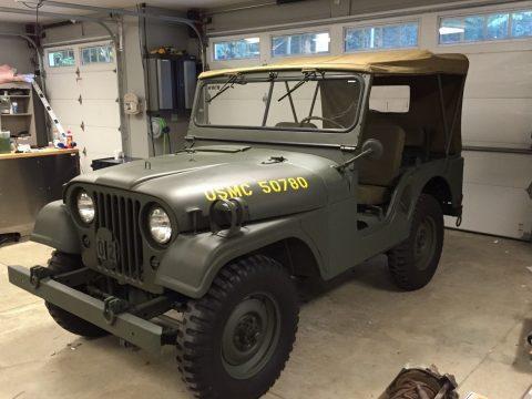 1954  Jeep M38A1 na prodej