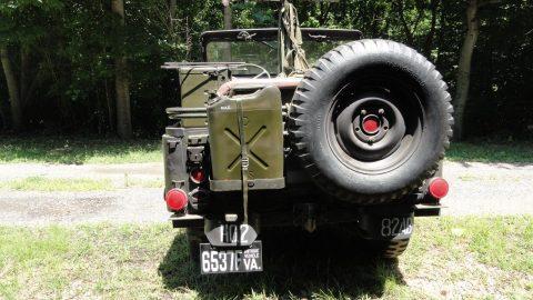 1955 Jeep Willys M38A1 na prodej
