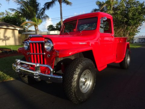 1959 Jeep Willys Pick Up Truck 4×4, na prodej