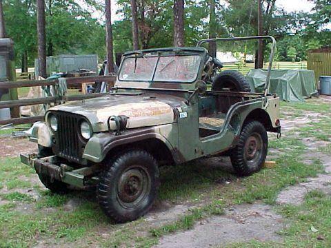 1969 Jeep M38A1 Military Vietnam USMC na prodej