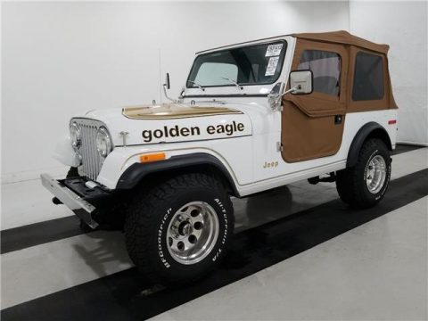 1978 Jeep Wrangler Golden Eagle  FREE SHIPPING! na prodej