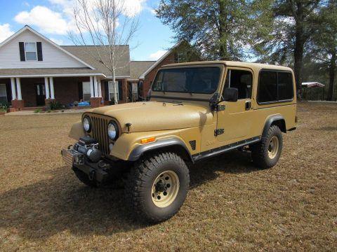 1981 Jeep CJ Scrambler na prodej