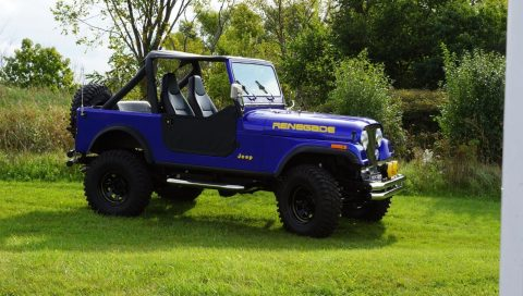 1985 Jeep CJ7  Renegade na prodej
