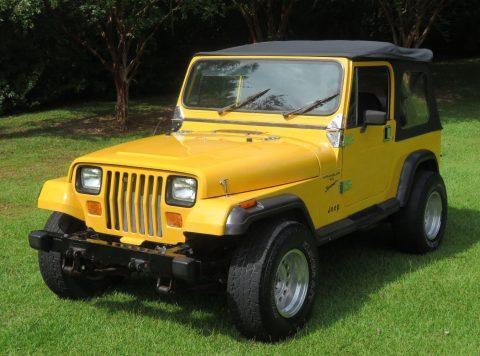 1988 Jeep Wrangler YJ Sport 6CYL   ONLY 68K Miles! na prodej