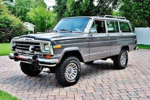 1989 Jeep Wagoneer 4×4 Amazing Restoration na prodej