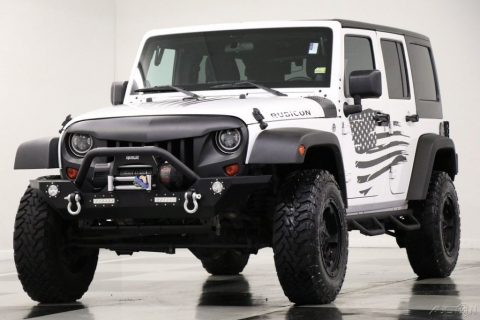2012 Jeep Wrangler 4WD Rubicon 4X4 Bright White SUV For Sale na prodej