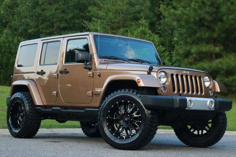 2015 Jeep Wrangler Sahara na prodej