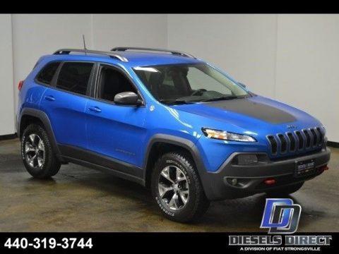 2017 Jeep Cherokee Trailhawk na prodej