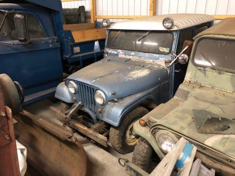 Four (4) Vintage Collectible Jeeps CJ5 M151a1 CJ3B M38a1/cj5 Stored 6 Years na prodej
