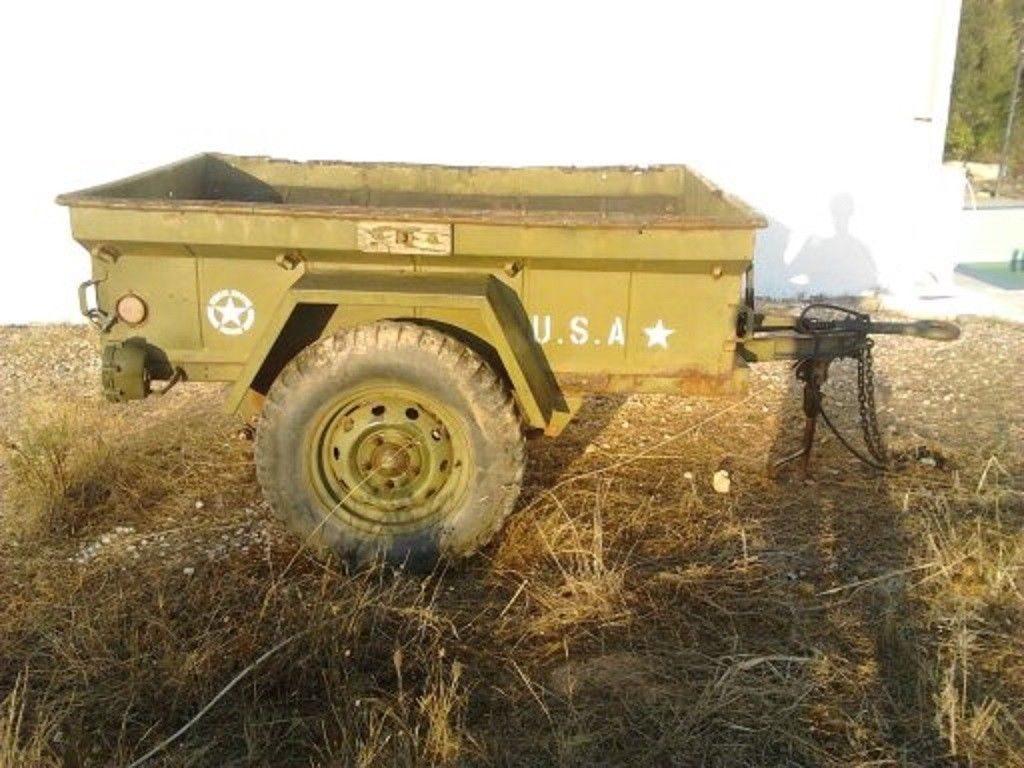military trailer m 416 1  4 ton na prodej
