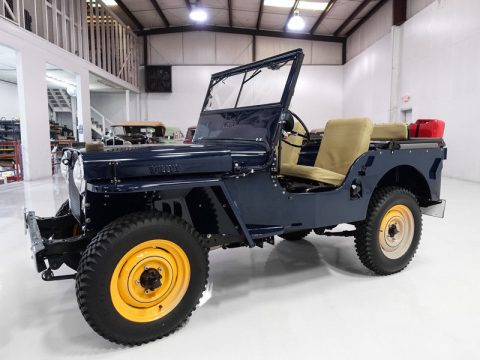 "1946 Jeep Willys CJ2A | Beautiful | ""Go Devil"" engine na prodej"