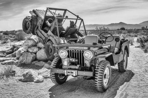 1950 Jeep CJ 3A na prodej