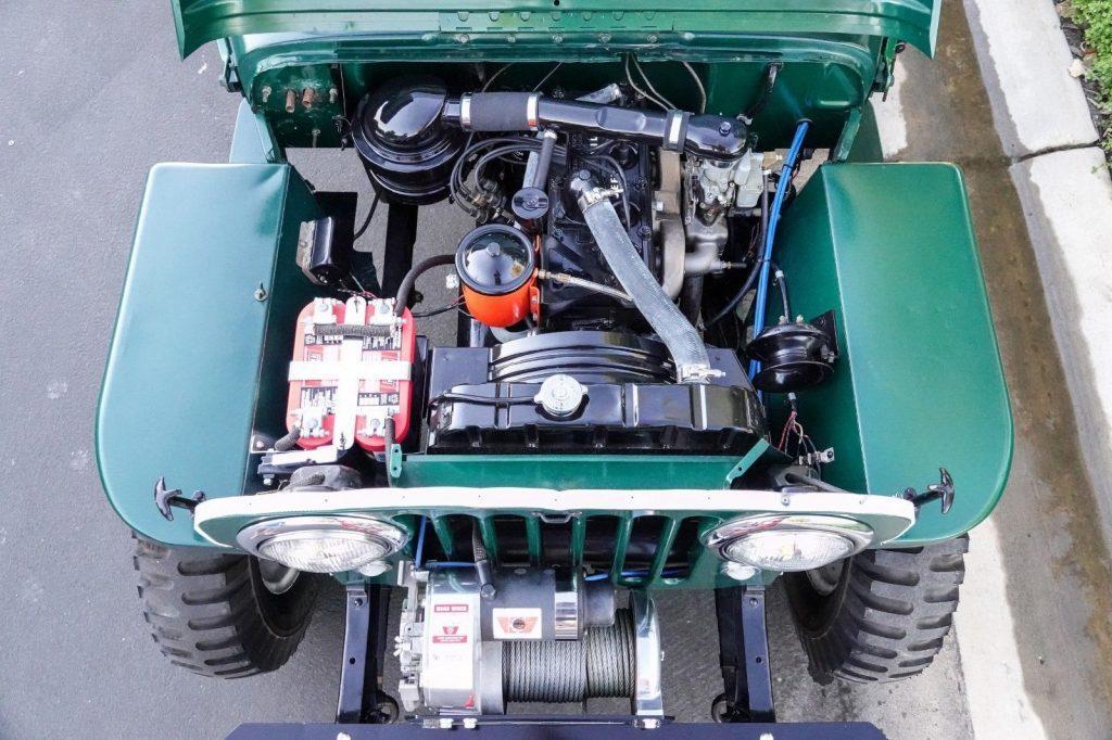 1950 Jeep CJ 3A