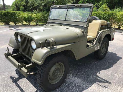 1952 Jeep Willys M38A1 na prodej