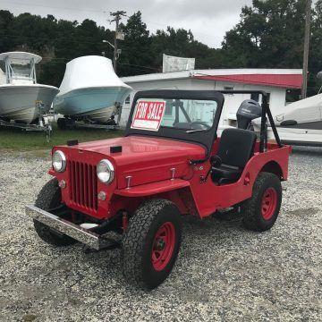 1953 Jeep Willys CJ3B na prodej