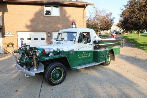1955 Willys Fire Truck na prodej