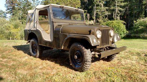 1956 Jeep Willys Universal CJ-5 na prodej