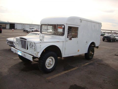 1968 Jeep Willys Ambulance na prodej