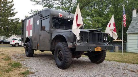 1969 Jeep M725 Military Ambulanc na prodej