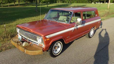 1975 Jeep Cherokee S – All Original na prodej