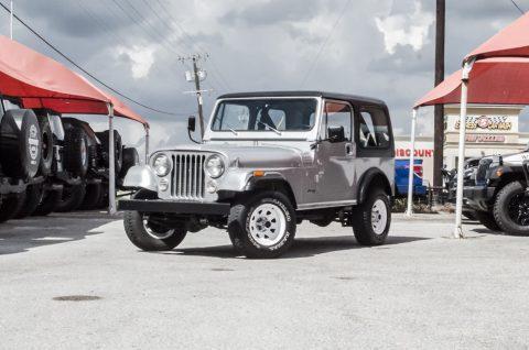 1982 Jeep CJ CJ7 na prodej