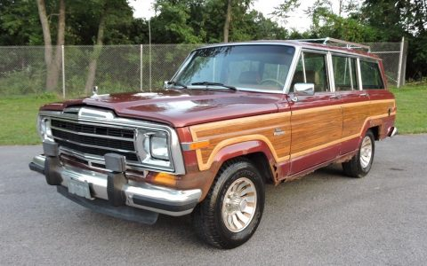 1986 Jeep Wagoneer Grand Wagoneer 4WD na prodej