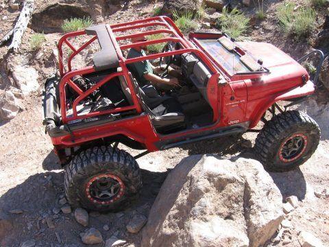 1997 Jeep Wrangler SPORT ROCK CRAWLER na prodej
