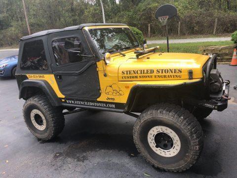 2000 Jeep Wrangler na prodej