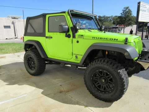 2013 Jeep Wrangler RUBICON na prodej