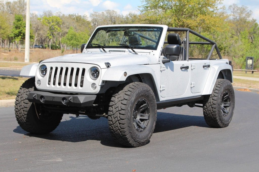 2013 Jeep Wrangler Sahara Kevlar Freedom Edition